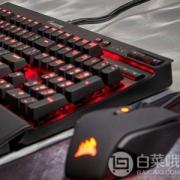 Corsair 海盗船 K70 LUX 机械游戏键盘 红光 红轴/茶轴