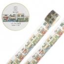 kinbor DTB64064 手帐本和纸胶带 40mm*10m10.5元(可优惠至8.5元)