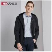 Hodo 红豆 HWX8F3136 男士连帽风衣 *2件