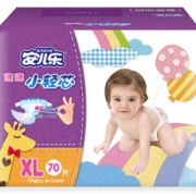 双11预售:Anerle 安儿乐 薄薄小轻芯 婴儿纸尿裤 XL70片*3包 *2件 534元包邮(合267元/件)