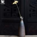 TAOMI 陶迷 复古创意陶瓷柴烧花瓶 5*13cm 9.9元包邮¥10