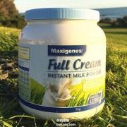 Maxigenes 美可卓 澳洲蓝胖子 成人高钙全脂奶粉1kg*3