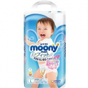PLUS会员:moony 尤妮佳 男婴用拉拉裤L 44片*4件
