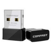 COMFAST 四海众联 无线网卡 CF-811AC 黑苹果专用无线网卡台式机无线接收器发射器