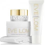 EVE LOM 尝鲜护肤套装 (卸妆膏50ml+保湿面霜10ml+急救面膜25ml+迷你洁面巾) £50.7