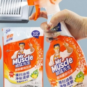 ¥13.9 Mr Muscle 威猛先生 厨房重油污净 455g+补充装420g¥14