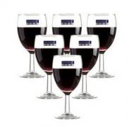Luminarc 乐美雅 实威红酒杯 190ml 6只装 *4件