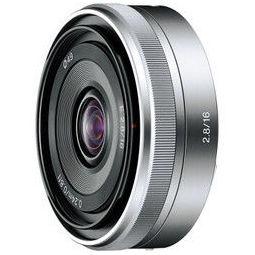SONY 索尼 16mm F2.8 APS-C画幅广角定焦微单相机镜头 E卡口