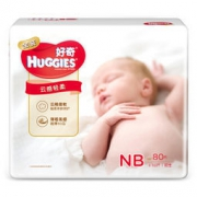 HUGGIES 好奇 金装婴儿纸尿裤 NB80片