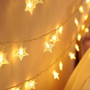 卓浩 LED小星星串灯 2米/10灯 电池款  券后1.6元