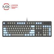 SBARDA 思巴达 KG06 机械键盘 104键 Cherry青轴 蓝灰色
