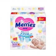 Merries 妙而舒 婴儿纸尿裤 NB号 96片 *4件 279元包邮(合69.75元/件)