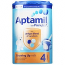 Aptamil 英国爱他美 婴幼儿奶粉 4段 800g *4件362.4元含税包邮(合90.6元/件)