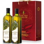 Liz 丽兹 特级初榨橄榄油礼盒 750ml*2瓶 *4件 149.6元包邮