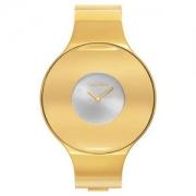 Calvin Klein 卡尔文·克莱恩 Seamless系列 K8C2M516 金色时尚女表 M码