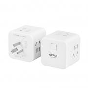 OPPLE 欧普照明 小魔方插座 无线总控一转四 15.9元包邮¥16
