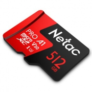 Netac 朗科 至尊PRO microSDXC A1 UHS-I U3 TF存储卡 512GB 364元(需用券)