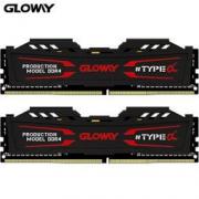 23日0点:GLOWAY 光威 TYPE-α系列 DDR4 16GB(8GBx2) 2666 台式机内存(石墨灰)