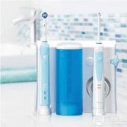 Oral-B 欧乐-B WaterJet MD16 冲牙器(4支喷头)+Pro 700 电动牙刷套装