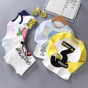 钜惠6.8元 纯棉儿童长袖T恤打底衫 券后¥6.8