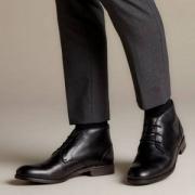 Clarks 其乐 19秋新款 Flow Top 男士 经典英伦踝靴301.04元(国内¥1789)