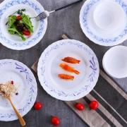 Luminarc 乐美雅 微风系列 白玉玻璃餐具 10头 39.9元包邮(需用券)