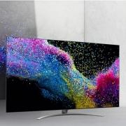 LG 65SM9000PCB 65英寸原装NanoCell硬屏无边电视