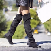 Stuart Weitzman 女士5050低跟长筒过膝靴 2款