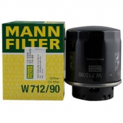 MANN 曼牌 W712/90 机油滤芯 适用大众/斯柯达/比亚迪