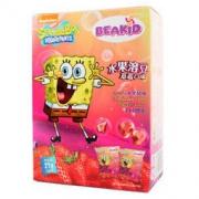 Beakid 海绵宝宝水果溶溶豆 24g 草莓香蕉味 *12件