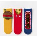 caramella 宝宝地板袜 三条装 14.9元包邮(需用券)¥15