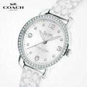COACH 蔻驰 DELANCEY 蒂兰希系列 女式皮带石英手表 14502250