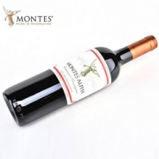 Montes 蒙特斯 欧法 赤霞珠红葡萄酒 750ml*2件