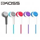 KOSS 高斯 KEB15iW 入耳式耳机 白色 9.9元包邮(需用券)¥10