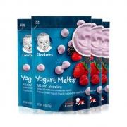 88VIP:Gerber嘉宝酸奶溶豆草莓味28g*4件*2件