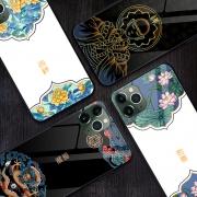 KingPos 国潮玻璃手机壳 iPhone6-11P Max/vivo/oppo/华为小米可选 9.9元包邮(需用券)