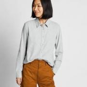 UNIQLO 优衣库 421933 女装 法兰绒衬衫(长袖)