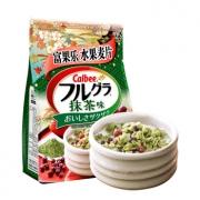 Calbee 卡乐比 水果麦片 抹茶风味 600g *4件 142.4元包邮包税(双重优惠)¥142