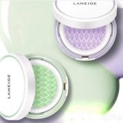 Laneige 兰芝  雪纱丝柔气垫隔离霜(15g正装+15g替换装)紫色款 *3件