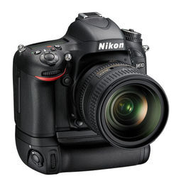 Nikon 尼康 D610 单反相机 入门级全画幅机身+MB-D14电池手柄