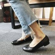 码全,Clarks 其乐 Couture Bloom女士真皮芭蕾平底单鞋199.54元