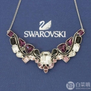Swarovski 施华洛世奇 Impulse 多色水晶镀铑项链 5152835