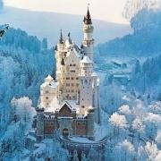 Ravensburger 睿思 72343 冬天的新天鹅堡拼图 1500块