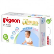 pigeon贝亲 婴儿真绵实感纸尿裤XL64片*6件
