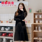 HSTYLE 韩都衣舍 NG9991 女款中长款连衣裙 159元包邮¥159