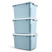 W.Q.T 塑料收纳箱 3个装49元包邮平常79元