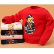 CLASSICTEDDY 精典泰迪 儿童加绒圆领卫衣*2件
