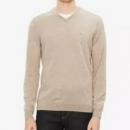 Calvin Klein 卡尔文·克莱恩 男士100%美利奴羊毛V领毛衣263.98元