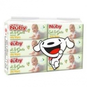 Nuby 努比 婴儿湿巾 80片×6包 *2件