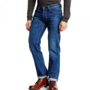 DIESEL 迪赛 LARKEE系列 男士直筒牛仔裤 0806W